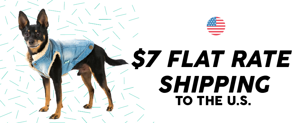 US $7 Flat Rate Shipping